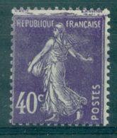 FRANCE SEMEUSE N°236 Variete D'impréssion En Haut N Xx   TB (le Normal C: 4.30 €) - Varieties: 1921-30 Mint/hinged