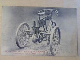 LES  ANCETRES  AUX  USINES DE  DION  BOUTON  PREMIER  TRICYCLE  A  VELO  1895 - Voitures De Tourisme
