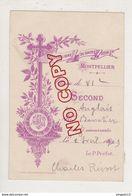 Au Plus Rapide Montpellier Hérault Pensionnat Sacré Coeur De Jésus Second En Anglais B.. 2 Avril 1903 - Diplomi E Pagelle