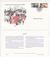 """1979 / Enveloppe 1er Jour """"Histoire Des Communications"""" EUROPA / FDC / SUEDE / SVERIGE - FDC"""