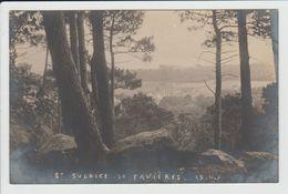 SAINT SULPICE DE FAVIERES - ESSONNE - CARTE PHOTO - VUE GENERALE - Saint Sulpice De Favieres