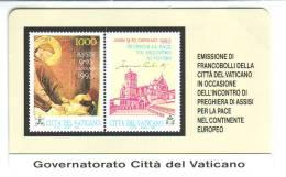 VATIKAN Telefonkarte Nr. 1-  Siehe Scan - - Vatican