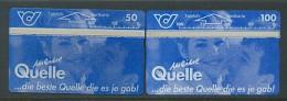 ÖSTERREICH  Telefonkarte - K 93-94 Quelle - Nr. 403A , 405 A- Siehe Scan - - Oesterreich