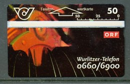 ÖSTERREICH  Telefonkarte - K 95 ORF Wurlitzer Telefon - Nr. 401A - Siehe Scan - - Oesterreich