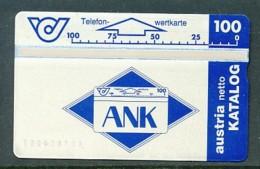 ÖSTERREICH  Telefonkarte - K 99  ANK   - Nr. 401A - Siehe Scan - - Oesterreich