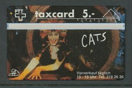SCHWEIZ  Telefonkarte - CATS   - Siehe Scan - - Oesterreich