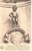 Bruxelles - CPA - Brussel - Fontaine De Manneken-Pis - Personnages Célèbres