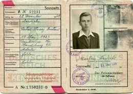 ALLEMAGNE CARTE D'IDENTITE - Germania