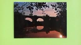 Cartolina IMOLA - BO - Viaggiata - Postcard - Tramonto Sul Santerno - Bologna