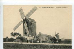 Moulin Vent  CHAPELLE SAINT MARTIN EN PLAINE - France
