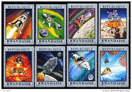 Rwanda 0384/91**  Apollo 13 MNH - Rwanda