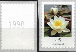 2018  Deutschland Mi. 3376 **MNH  Nr. 1990  Weiße Seerose (Nymphaea Alba) - Nuevos