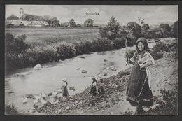 Carte De SLOVAQUIE -   ( 2 Scans ) - Slovaquie