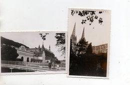 Quimper. Cathedrale. Odet Palace. 2 Photos Amateur 1954. - Quimper