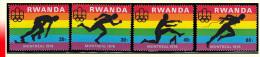 Rwanda 0769/72**  Jeux Olympiques De Montréal MNH - Rwanda