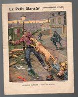 Couiverture De Cahier Illustré : LE PETIT GLANEUR 1e Série : Les Chiens De Police (PPP8175) - Blotters