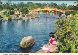 "ASIE--RARE---SINGAPOUR--"" Seiwae "" Japanese Garden, Jurong---voir 2 Scans - Singapour"