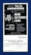 Programa Teatro TALIA (Valencia) - Programas