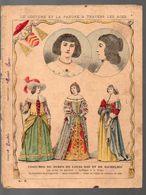 Couverture Illustrée De Cahier D'écolier :Costumes Du Temps De Louis XIII Et Richelieu  (costume N°8) (PPP8179) - Blotters