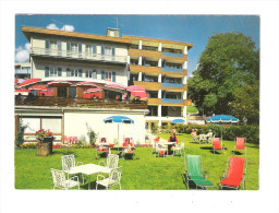 Suisse - Grindelwald - Hotel Spinne - Terrasse Animation -  Rudolf Märkle - Foto Alex - BE Berne