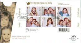 """Netherlands FDC 2012, Blockausgabe: """"Voor Het Kind"""", Michel Block 146 (27) - FDC"""