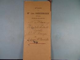 Acte Notarié 1899 Huwelijkscontract Bonnewijn Brussel Vanstalle Schuelen /6/ - Manuscrits