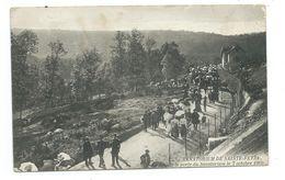 23/ CREUSE...Sanatorium De SAINTE FEYRE. La Foule à La Porte Du Sanatorium Le 7 Octobre 1906 - Other Municipalities