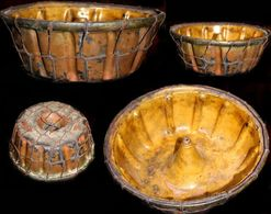 Ancienne Terre Cuite Vernissée Slovaque XIXème / Old Slovakian Clay Pot - Ceramics & Pottery
