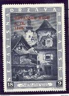 CROATIA 1943 Return Of Sibenik  MNH / **.  Michel 117 - Croatia