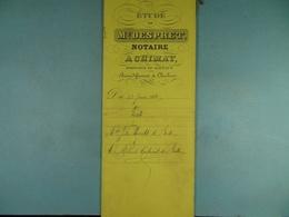 Acte Notarié 1888 Vente Par Hosselet De Baileux à Coulonval De Baileux /9/ - Manuscrits
