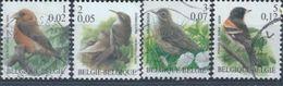 """BELGIQUE : Y&T (o) N° 2917-2920 """" Oiseaux Divers """" - 1985-.. Birds (Buzin)"""