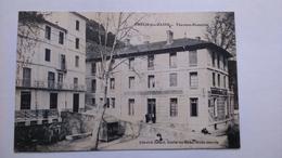 Carte Postale ( C1 ) Ancienne De Amélie Les Bains , Thermes Romaines - Otros Municipios