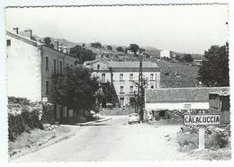 CALACUCCIA (20) - Entrée Sud Du Village     -   Cpsm  Gf - Andere Gemeenten