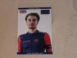 Jonathan Dibben - Team Wiggins - 2015 (photo Kodak) - Cycling