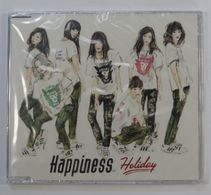 "CD : Happiness 8th Single "" Holiday "" ( Rythm Zone RZC1-59970 / 2015 ) - Disco & Pop"