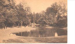 Bruxelles - CPA - Brussel - Parc Josaphat - Etang Et Pont Rustique - Bossen, Parken, Tuinen