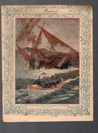 Couverture Illustrée De Cahier D'écolier :les Naufrages  (PPP8182) - Blotters