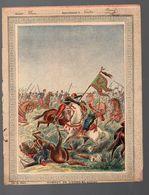 Couverture Illustrée De Cahier D'écolier :COMBAT DE L'OUED EL ALLEG (PPP8186) - Blotters