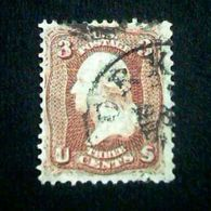 UNITED STATES USA GEORGE WASHINGTON 3 C 1861 SC65 (o) - Used Stamps
