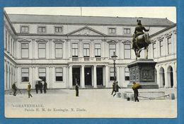 DEN HAAG GRAVENHAGE PALAIS H.M. DE KONINGIN. N. EINDE - Den Haag ('s-Gravenhage)