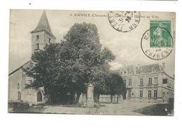 16/ CHARENTE... MANSLE. La Place De L'Hôtel De Ville - Mansle