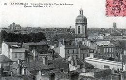 Cpa (17)--la Rochelle  - Vue Gènèrale Prise De La Tour De La Lanterne  Quartier Saint-jean. - La Rochelle