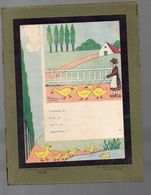 Couverture Illustrée De Cahier D'écolier (renforcée Carton D'origine ) Oeuvres Des Pupilles Du Lot Et Garonne (PPP8191) - Blotters