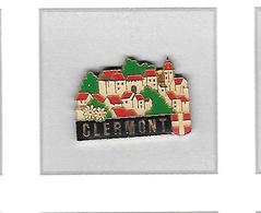 Pin's  Ville  CLERMONT  ( 74 ) - Villes