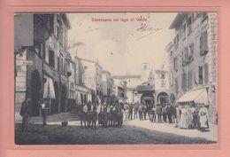 OLD  POSTCARD - ITALY - ITALIA - DESENZANO - LAGO DI GARDA  - ANIMATED - Brescia
