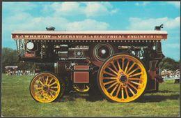 1934 Fowler Showmans Supreme - Colourmaster Postcard - Postcards