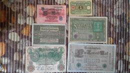 Lot Geldscheine Deutsches Reich - [ 2] 1871-1918 : German Empire