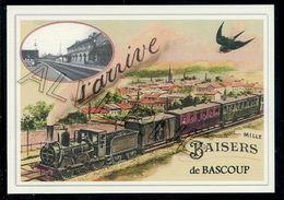 BASCOUP ...train  Souvenir  Creation Moderne Série Limitée - Belgique