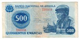 Angola 500 Kwanzas 14/08/1979 - Angola