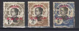 CANTON  N°s 50*,51*,52  (1908) - Nuovi